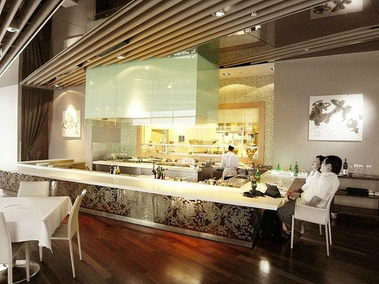 Sage: Open kitchen