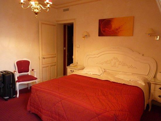 Chateau de Beaulieu : la chambre