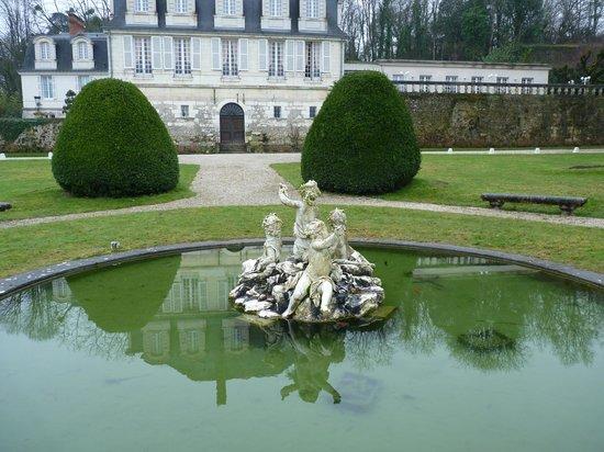 Chateau de Beaulieu : le parc