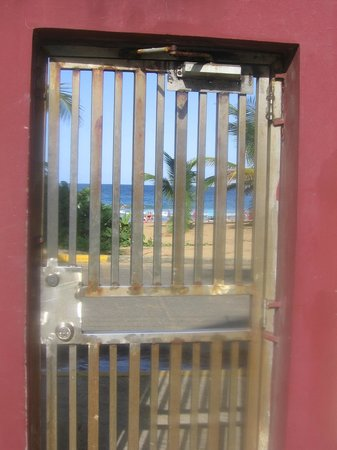 Playa Azul: Gate to the beach