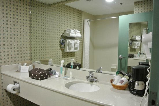 St Augustine Hotel & Suites: bathroom