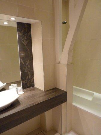 Chateau de Beaulieu : La salle de bains