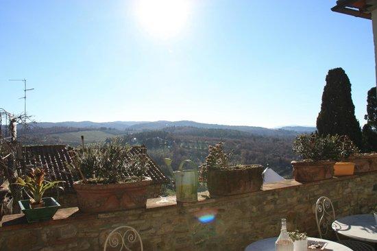 Le Terrazze del Chianti Bed & Breakfast: Landscape