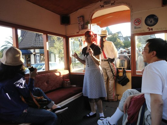 Solvang Trolley & Carriage : Trolley tour