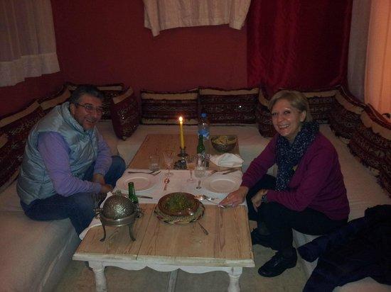 Riad Azoulay: A cena