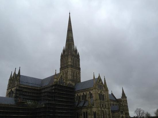 Salisbury Cathedral照片