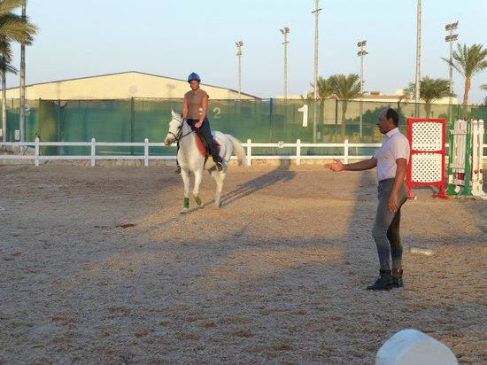 Edelweiss Equestrian Center: mohammed in tutor mode