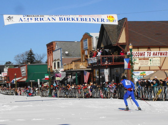 The Riverside Motel: Birkebeiner Ski Marathon Days in Hayward