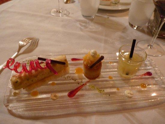 Chateau de Beaulieu: Le dessert