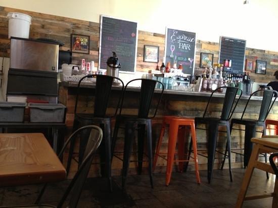 Park Cafe: inside