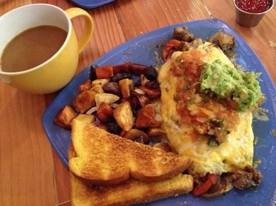 Park Cafe : southwest omelet breakfast