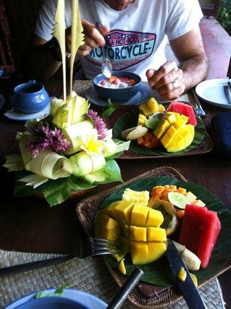 Hotel Tugu Bali: petit déjeuner
