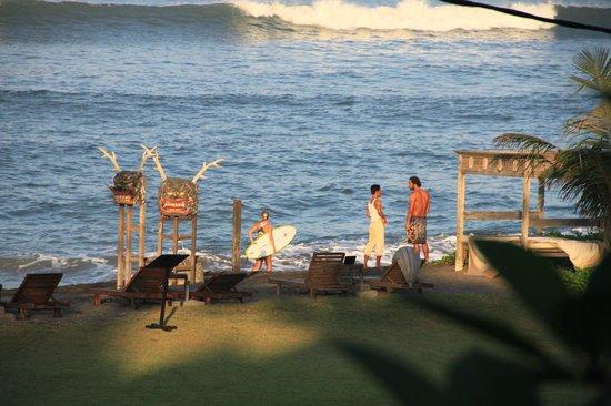 Hotel Tugu Bali: la plage