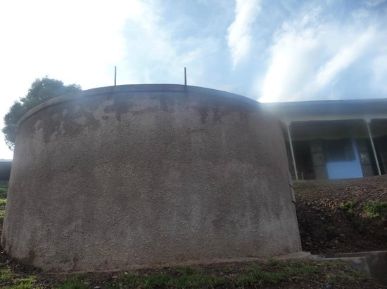 Bakiga Lodge: Local Community water tank built by Bakiga Community Project
