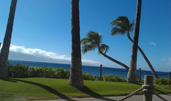 Marriott's Maui Ocean Club  - Lahaina & Napili Towers: View from my pool lounge