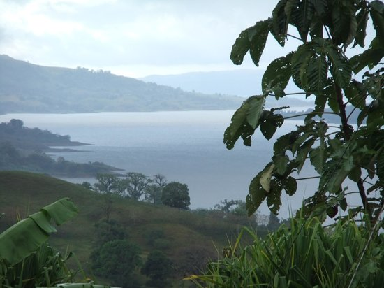 Nepenthe B&B: Vista do lago Arenal