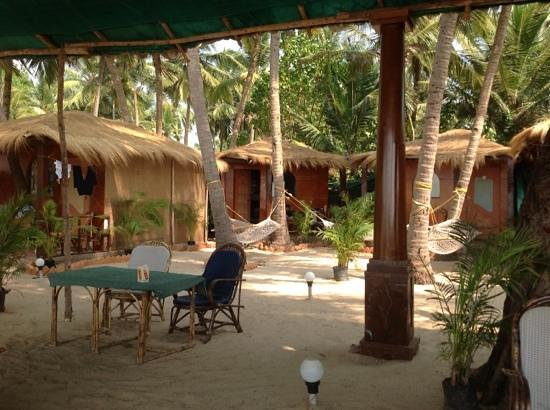 Om Sai Beach Huts: our hut