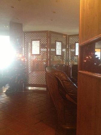 Hotel Nevasur: the lobby