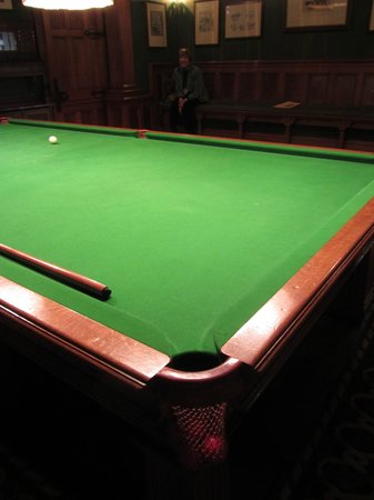 Cragside House and Gardens: Lord Armstrongs Snooker Table