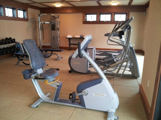 Weekapaug Inn: Fitness Room