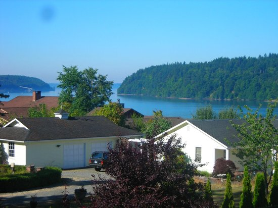 Inn at Saltar's Point: View from porch