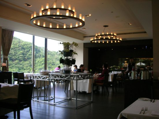 Grand View Resort Beitou: breakfast dining area