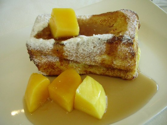 Grand View Resort Beitou: delicious french toast