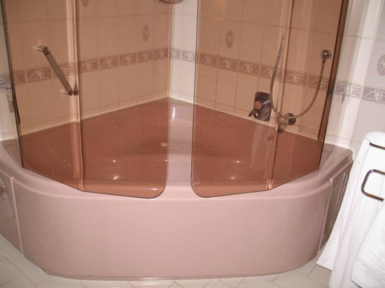 Hotel Brielhof : nice tub/shower, roomy