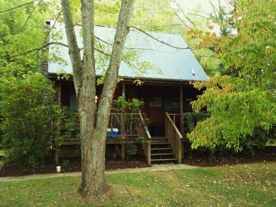 Mountain Springs Cabins: The cabin we stayed in #12 ....