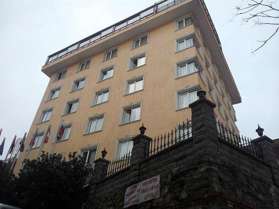Sed Hotel : Vista hotel dalla strada