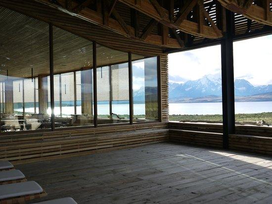Tierra Patagonia Hotel & Spa: Außenbereich