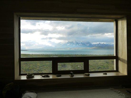 Tierra Patagonia Hotel & Spa: Zimmer Ausblick