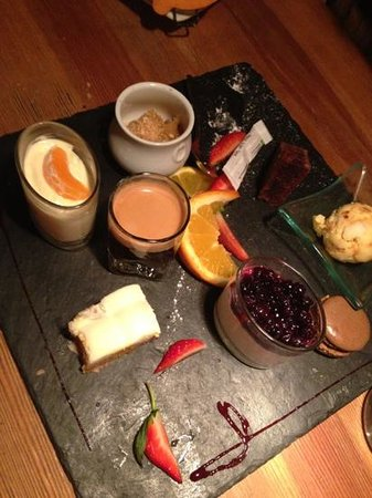 La Scierie : десерт