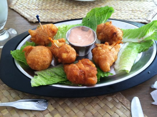 Ma Ruby's Restaurant: Conch fritters