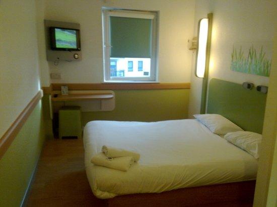 Hotel ibis budget Leeds Centre : Ibis Budget Leeds - Comfortable bed