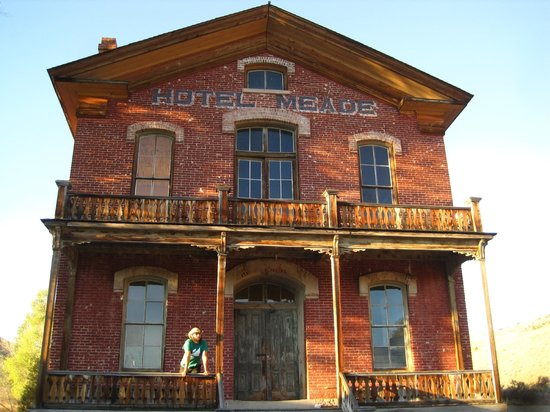 Bannack State Park: The old hotel in Bannack.