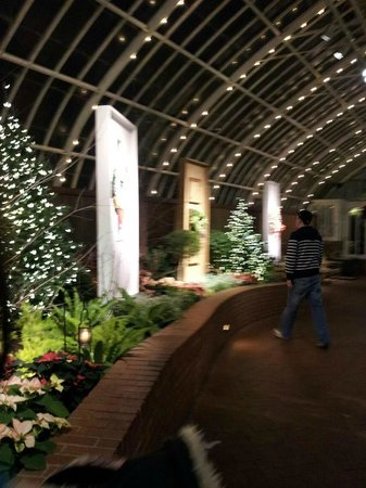 Phipps Conservatory: Door to door joy