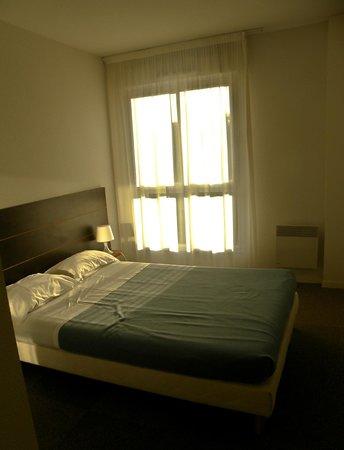 City Residence Bry sur Marne : Una delle camere da letto