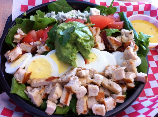 Beach Bites Siesta Key: Cobb salad