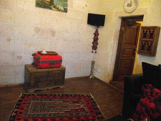 Canela Cave Hotel: oda ,giriş