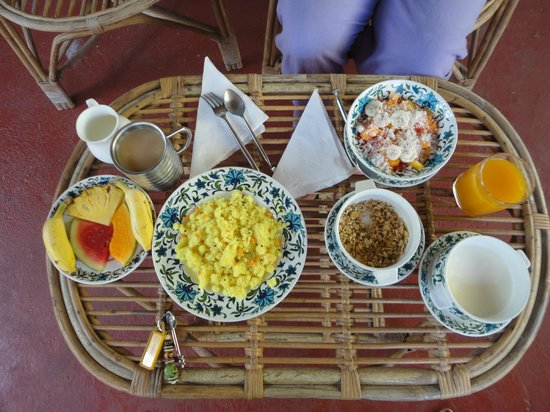 Kaiya House: Breakfast