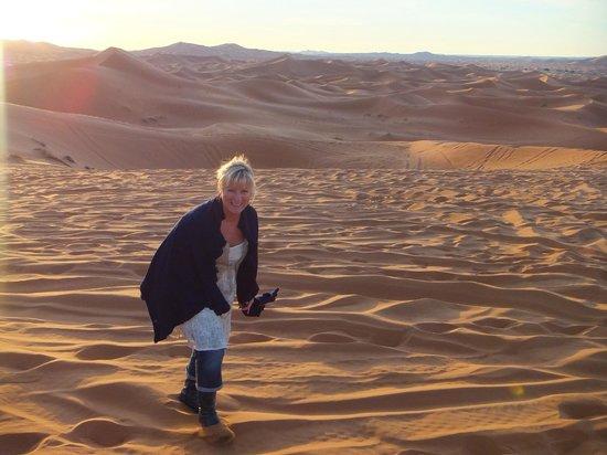 Riad Mamouche: Woestijn