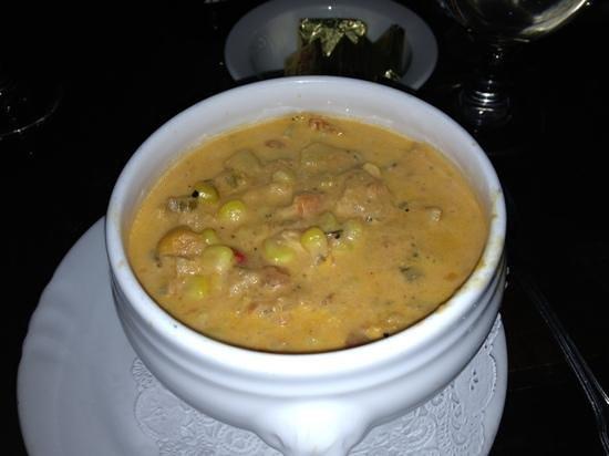 Mr Pickwick's Gastropub & Steakhouse: lobster corn chowder