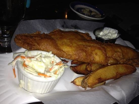 Mr Pickwick's Gastropub & Steakhouse: fish and chips
