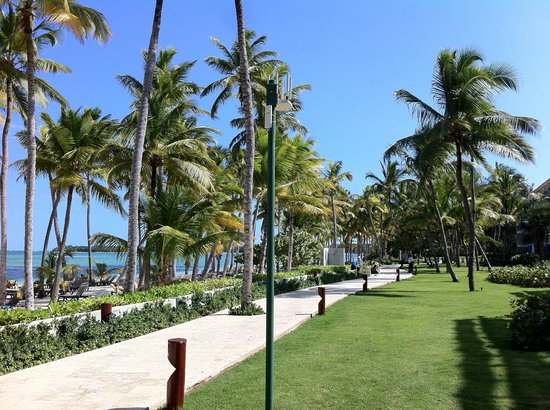 Barcelo Bavaro Palace: Paths throughout Hotel