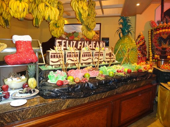Hotel Majestic Colonial Punta Cana: BUFFET 