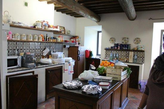 Borgo di Bastia Creti: cucina le ginestre