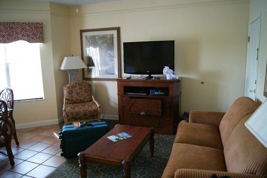 Sheraton Vistana Resort - Lake Buena Vista : The living