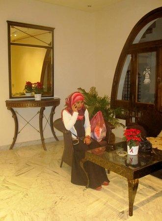 Dahab Resort: FRIENDLY COSY LOBBY ANNEX RECEPTION