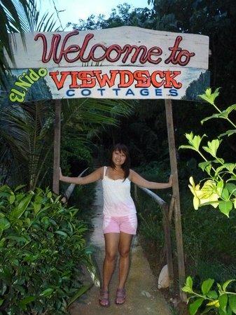 El Nido Viewdeck Inn: the entrance
